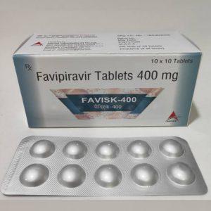 Favipiravir Tablets 400 mg - FAVISK-400 - COVID-19 Vaccine